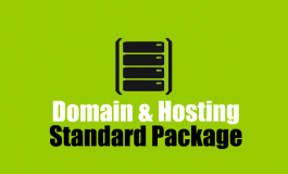 500 MB Linux Hosting + Domain name ($19 | PKR. 1900) / Year