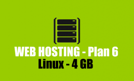 4 GB Linux Hosting + Domain name ($69 | PKR. 6900) / Year