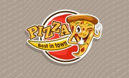 Pizza logo for food industry ($5 | PKR.500)