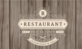 Ornamental restaurant logo ($5|PKR.500)