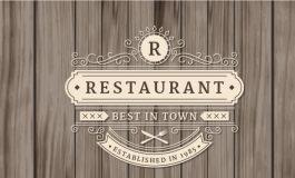 Ornamental restaurant logo ($5|PKR.500)
