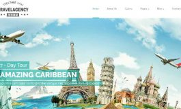 Travel agency HTML template ($19 | PKR.1900)