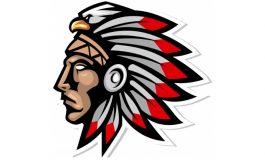 cherokee head chief tribe logo ($5 | PKR.500)