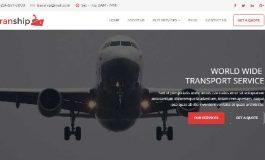 Transport / Logistic service HTML ($17 | PKR.1700)