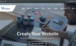 Multipage Business HTML Template ($17 | PKR.1700)