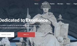 Lawyer & Attorney Business Website ($29 | PKR.2900)