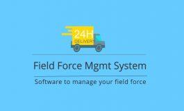 Field force management system + Mobile APP