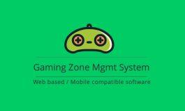 Gamezone management system (Cloud based application)